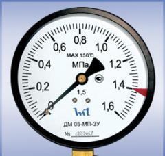 Манометр ДМ 05-МП-ЗУ М20х1,5 0,6 Мпa