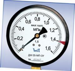 Манометр ДМ 05-МП-ЗУ М20х1,5 1,6 МПa