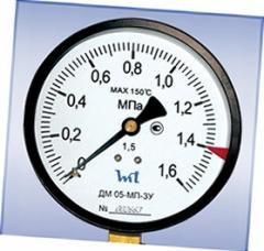 MPa DM 05-MP-ZU G1/2 0,6 manometer
