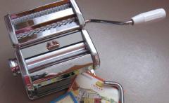 Паста машина, тестораскатка, лапшерезка Atlas 150
