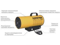 Газовый нагреватель MASTER BLP 17 M