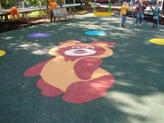 Coverings for playgrounds