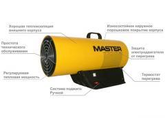 Газовый нагреватель MASTER BLP 53 M