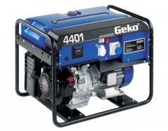 Генератор Geko 4401 E-AA/HEBA BLC