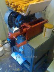 The machine for production of church candles from