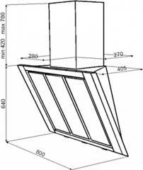 Вытяжка TEKA DV 80 GLASS