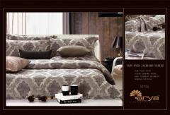 Комплект постельного белья ARYA Nitsa жаккард евро