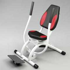 Hydraulic exercise machines for female fitness