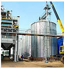 Equipment for storage of grain, Capacity for