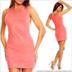 UTCG Платье с кружевным верхом 152504