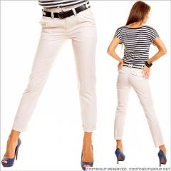 UTCG Светло-бежевые классические штаны 152247