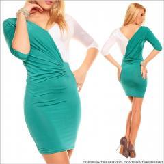 UTCG Платье с рукавом три четверти 151296