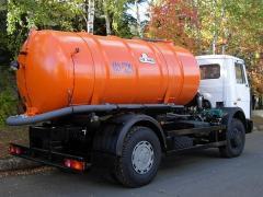 Car cesspool (vacuum) KO-529