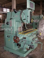 Different milling machines