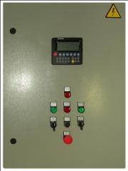 Щиты управления для станций повышения давления,