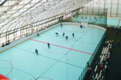 Equipment for ice rinks and ice arenas
