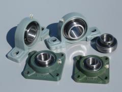 Bearings: open, closed, bearing housings, seals,