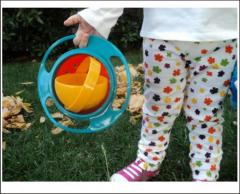 Gyro Bowl тарелка нерассыпайка-непроливайка чашка Gyro Bowl