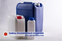 Container for chemistry, 1 liter, 5 liter, 10