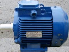 Электромоторы ассинхронные переменного тока с