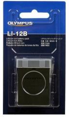 The Olympus LI-12B accumulator, LI-10b for the