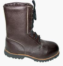 Ботинки «Омон» юфтевые