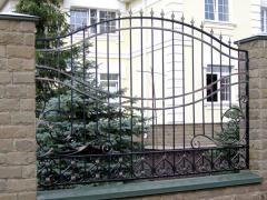 Заборы ограждения кованые Днепропетровск