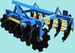 Агрегат почвообрабатывающий дисковый АГД-2,1