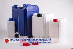 Canisters, food bottles PE, PP, Pat