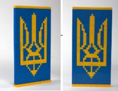 "Souvenir set ""Ukraini's Coat of"