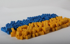 Designer's set blue-yellow, 2 colors