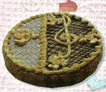 Charivny Key cake