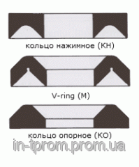 Shevronny cuff 140х170