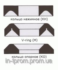 Shevronny cuff of M 90х110