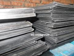 Plate rubber and rezinotkanevy GOST 7338-90