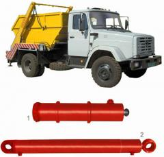 Hydraulic cylinders for municipal machiery