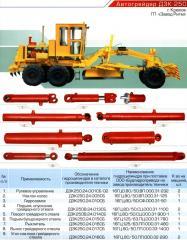 Hydraulic cylinder of a rykhrytel of