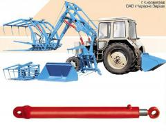 Hydraulic cylinders for loaders