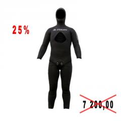 Diving suit for spearfishing of Picasso SWAT 7mm of river of L, XL