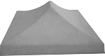 """Крышка на столб """"Пирамида"""""""