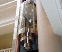 Elevators panoramic (with transparent cabins)