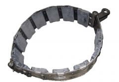 Brakes and brake control for tractors