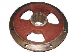 Hubs for agricultural machinery