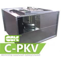 Вентилятор канальный прямоугольный с вперед загнутыми лопатками C-PKV