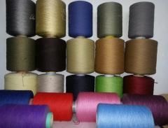 Polypropylene threads (BCF,HEAT-SET,FRIEZE) of