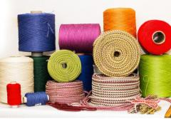 Cord for clothes knitted with filler,