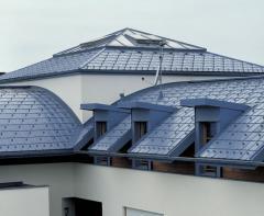 Алюминий окрашенный для фальцевых кровель и фасадов Prefalz PP99