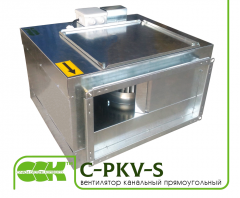 Вентилятор канальный прямоугольный C-PKV-S
