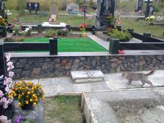 Ритуальные изделия из гранита для надгробий