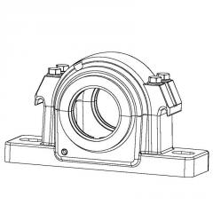 Cases of GLH bearings with dimension in...